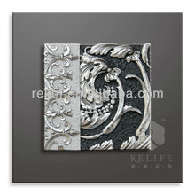 European Abstract Design Relief Painting HOME DECORATION