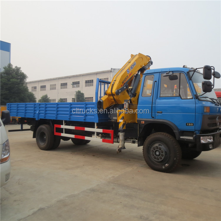 High quality Cheapest 10 ton knuckle boom truck mounted crane