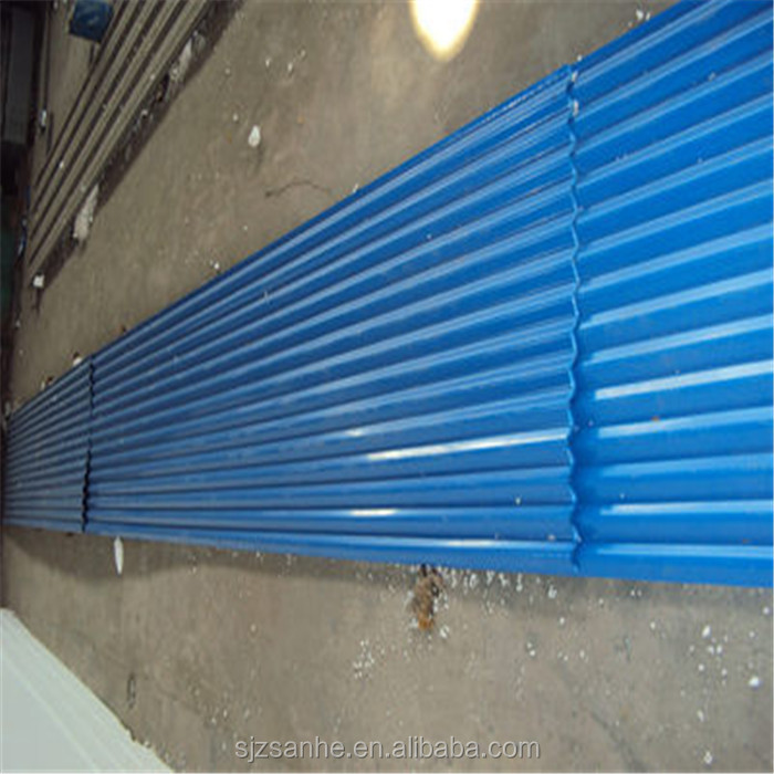 sheets for roof zink corrugated,colorful PPGI Corrugated roofing sheet