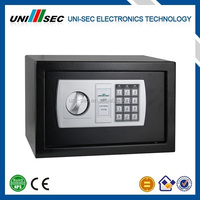 HOME SAFE, SMALL DIGITAL SAFE, SAFE DOUBLE KEY