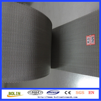 316 stainless steel reverse dutch weave wire mesh belt conveyor price