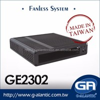 GA2302 Full Aluminum Fanless Case Support Intel Atom Processor