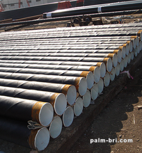 API 5L hot rolled SPIRAL EPOXY COATED STEEL SEWER PIPE for oil and gas /building material