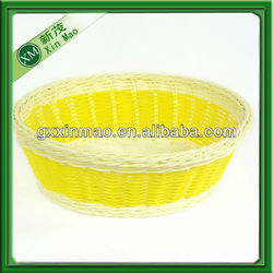 woven tiny oval pp basket for sale