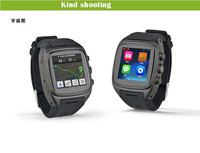 Best smart watch phone 3G wifi GPS waterproof Android 4.4 round smart watch