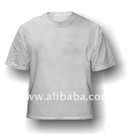 Male Sublimation combed cotton blank T-shirt