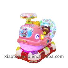 China factory baby swing car arcade video machine ticket games