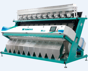 rice processing optical sorters color sorters