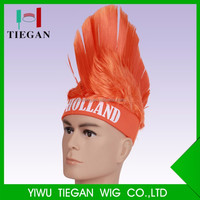 Holland Mohawk Wig cock wigs Carnival Party multi color Halloween wig