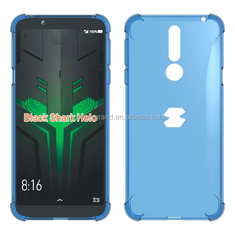 Good quality Soft Anti-Drop Gasbag TPU case cover for Xiaomi Black Shark Helo