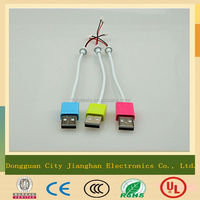 Customized colorful oxygen-free pure copper AM usb cable driver download