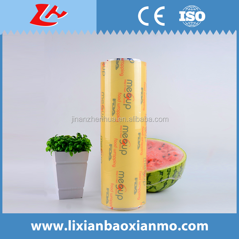 Fruit Packing Film and Keep Vegetable Fresh Film PVC Cling Film