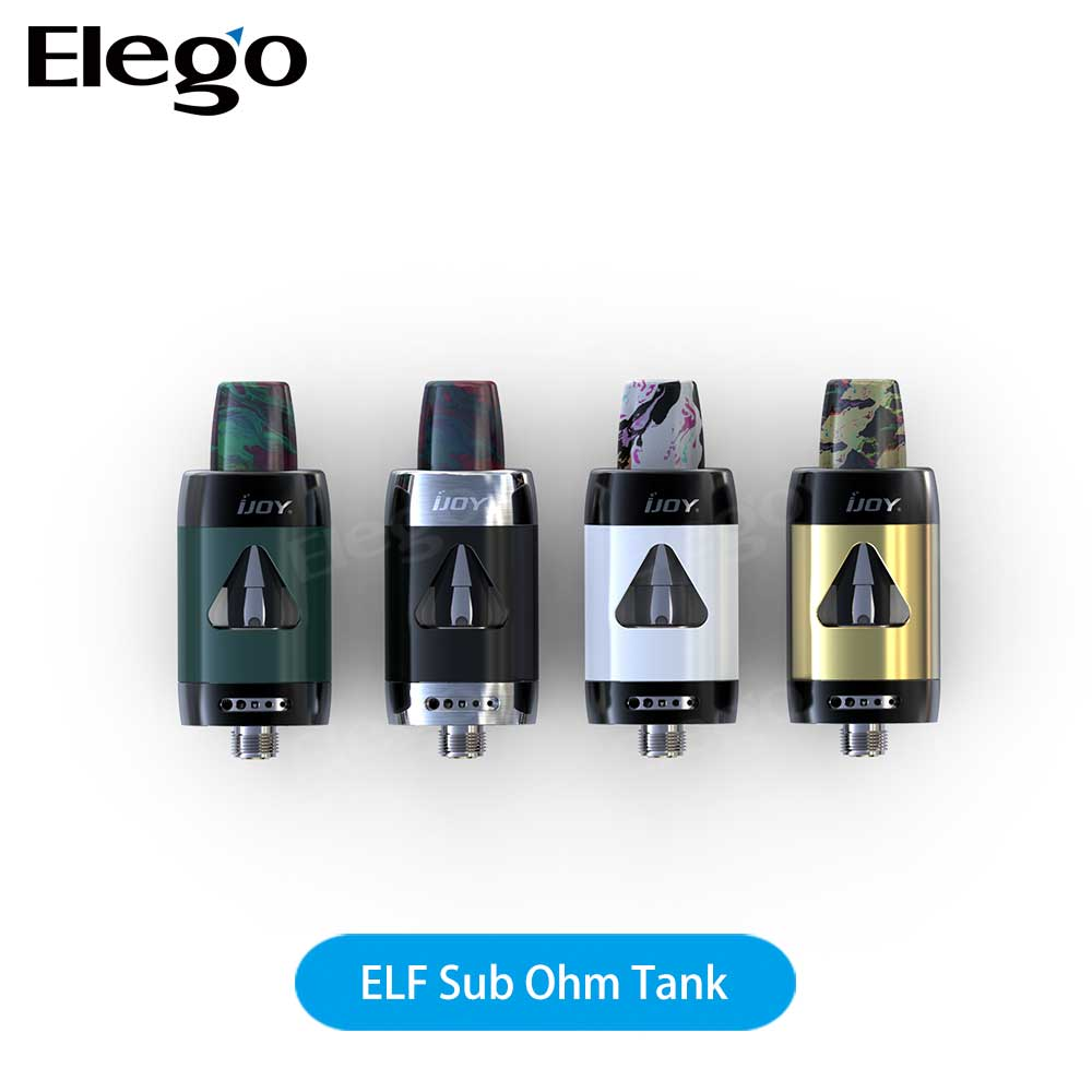 Authentic IJOY ELF Tank Sub Ohm Tank IJOY ELF Tank 2ml TPD Compliant