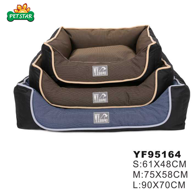 Petstar Fleece Dog Beds 2017 Filled With Foam Particles