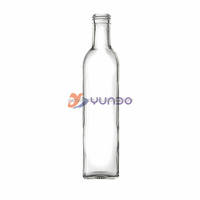 Top Quality 750ml Food Grade Clear Marasa Olive Oil Glass Bottle