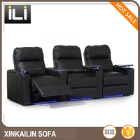 luxury reclining vip home theater recliner chair