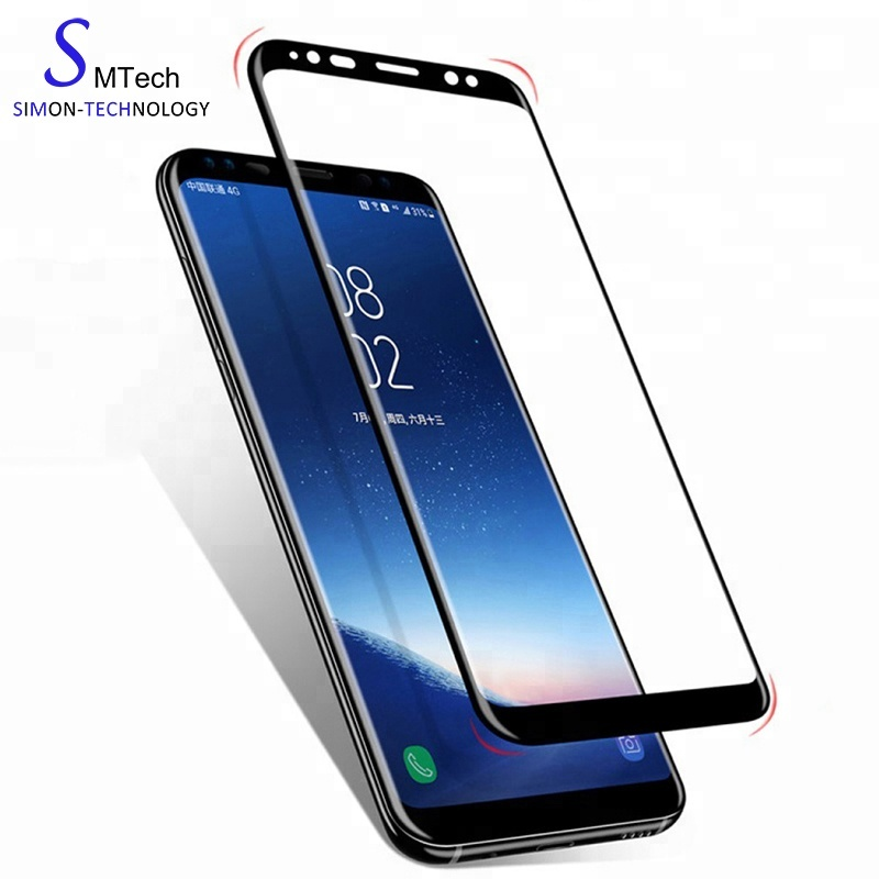 Tempered glass screen protector For samsung Galaxy s7 edge S8 S8 plus S9 S9 plus note 8 3D full cover