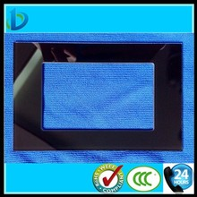 Drilling hole tempered glass panel for switch