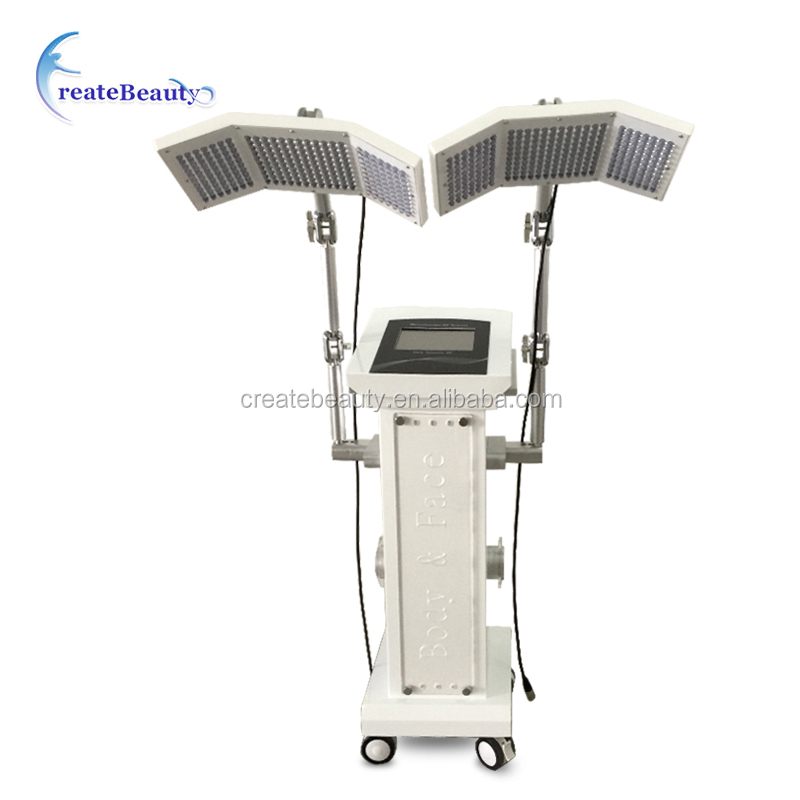 Professional PDT/LED collagen light therapy with red/blue/mixed led therapy machine