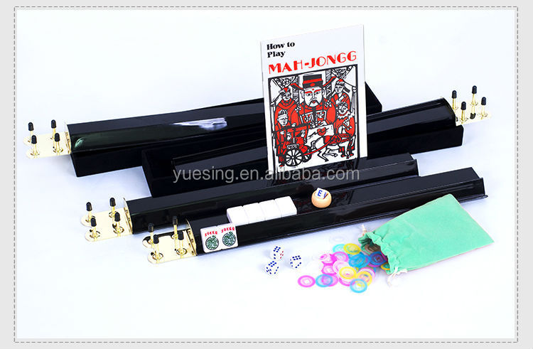 2015 cheap price ivory custom mahjong set for american