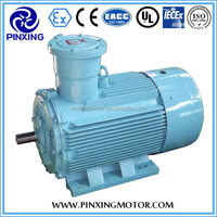 YB2 series electric ac induction explosion proof motor electric 0.55KW