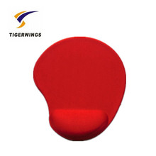 Tigerwings sexy wrist support breast gel mouse pad