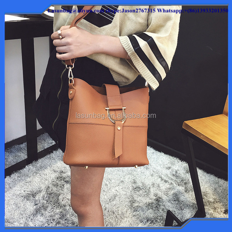 2016 hot sale leather pu big size shoulder bag women's designer handbags Girls shoulder bags