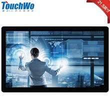 Manufacturer High Quality 21.5/22 inch touch screen monitor waterproof dust-proof support 10 points touch