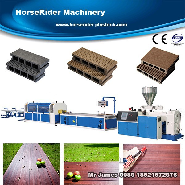 Most professional Wood Plastic Pallet Profile Production Line