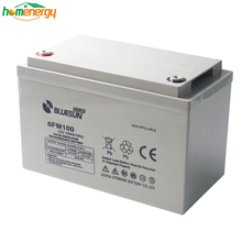Energy storage long life lead-acid marine batteries deep cycle for 12v 100ah