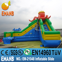 1878 USD inflatable octopus water slide, inflatable water slide, giant inflatable water slide for adult