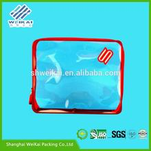custom printed plastic bag packaging, non woven underwear bag, Plastic clothes box SHWK1475