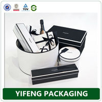 Jewelry packaging box/ necklace gift box with inside foam from China exporters