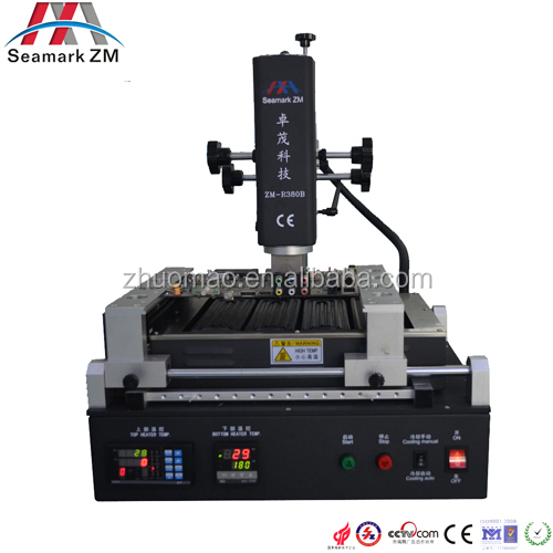 Best quality ZM-R380B hot air infrared BGA rework station+ BGA accessories, mother board repair machine