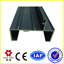 Color anodizing aluminum window and door products