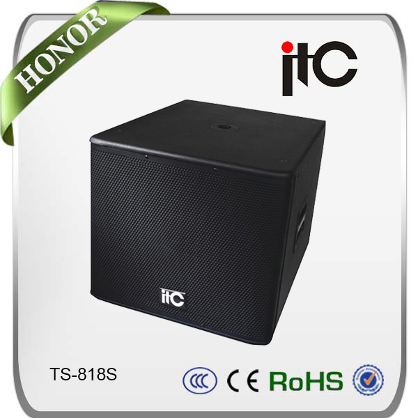 "ITC professional sound 18"" subwoofer speaker box"