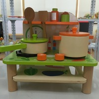 Wooden Play Kitchen Toys