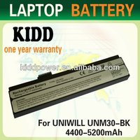 New compatible Laptop Battery for HASEE M30-3S4400-C1S1,M30-3S4000-G1L1