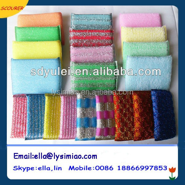 daily used items sponge scouring pad for kitchen