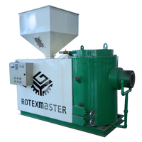 Steam boiler use wood chips burner with CE