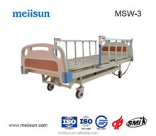 HOT SALE CHEAP PRICE multi-functional metal hospital bed with ABS bedhead