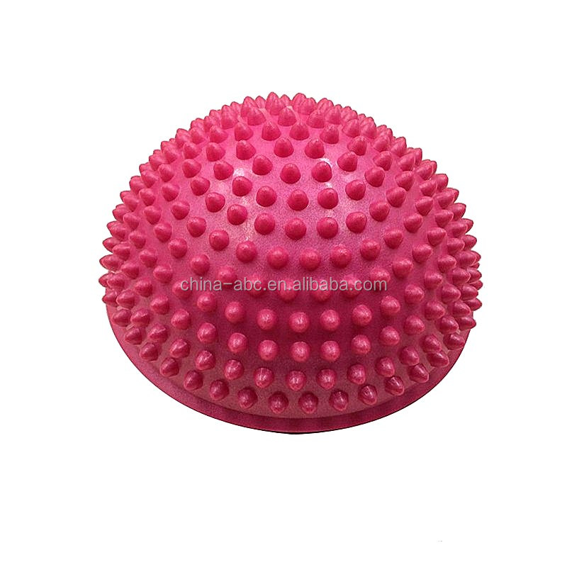 Yoga Half Ball Physical Fitness Appliance Exercise balance Ball point massage stepping stones bosu balance pods GYM YoGa Pilates