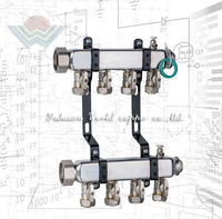 WD-3601 Ball Valve Type Stainless Steel hydraulic water meter manifold