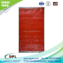 shandong qingdao good factory vegetable onion potato fruite packaging polyester mesh food bag