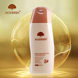 Wholesale cosmetic argan oil morocco organic anti-hair loss shampoo