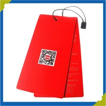 China supplier paper printing tag garment hang tags hign grade printing machine
