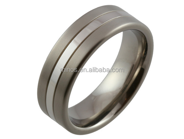 Best Concept Modern Mens Titanium Ring,Titanium Wedding Band Wide Ring