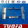 Hot-dip galvanized Power Crossarm / Electric Power Fitting