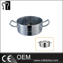 Stainlesss Steel Hot Pot Pan/Kitchen Pots And Pans/Decorative Cookware Set With New Design