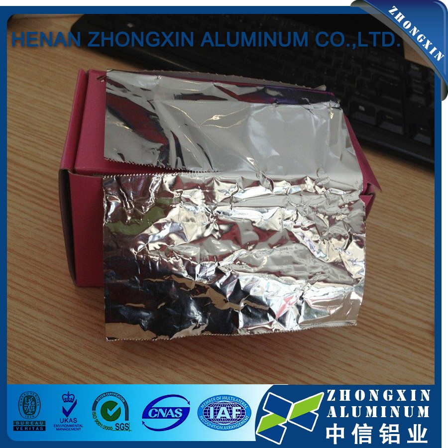 Supply Top Quality Hair dressing aluminum foil rolls for salon